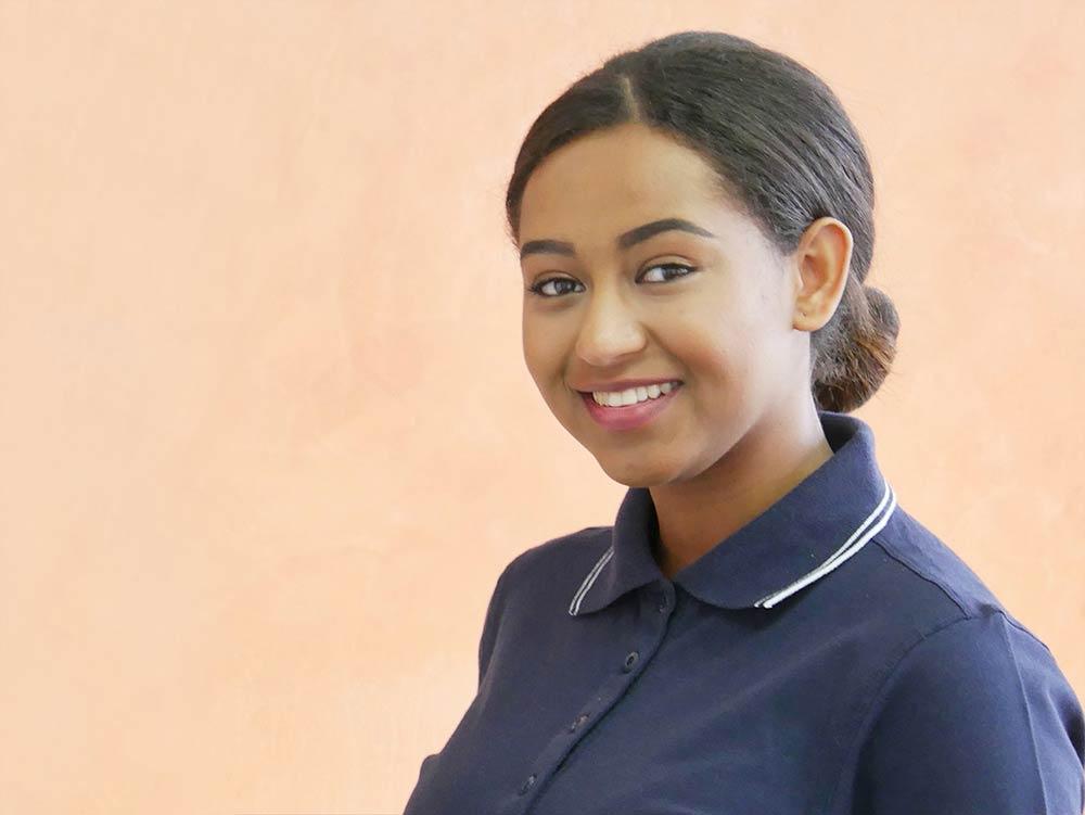 Hawi-Alemayehu Praxis-Mitarbeiterin